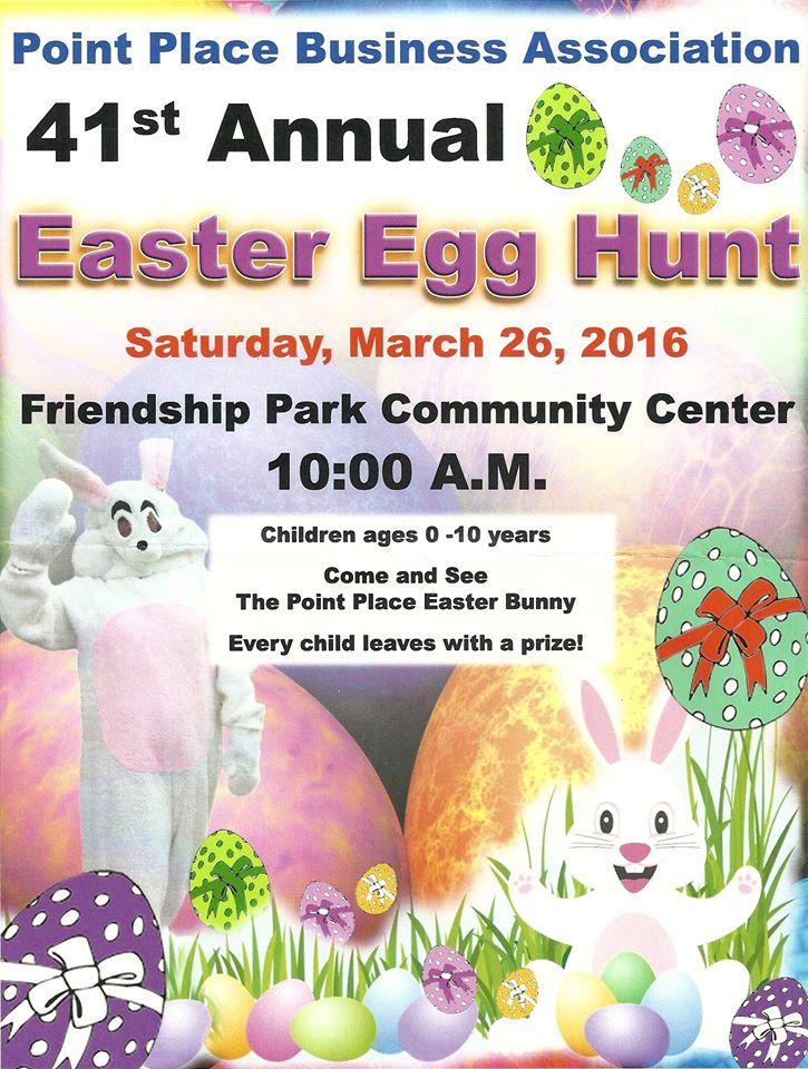 Easter Egg Hunt Poster 2016